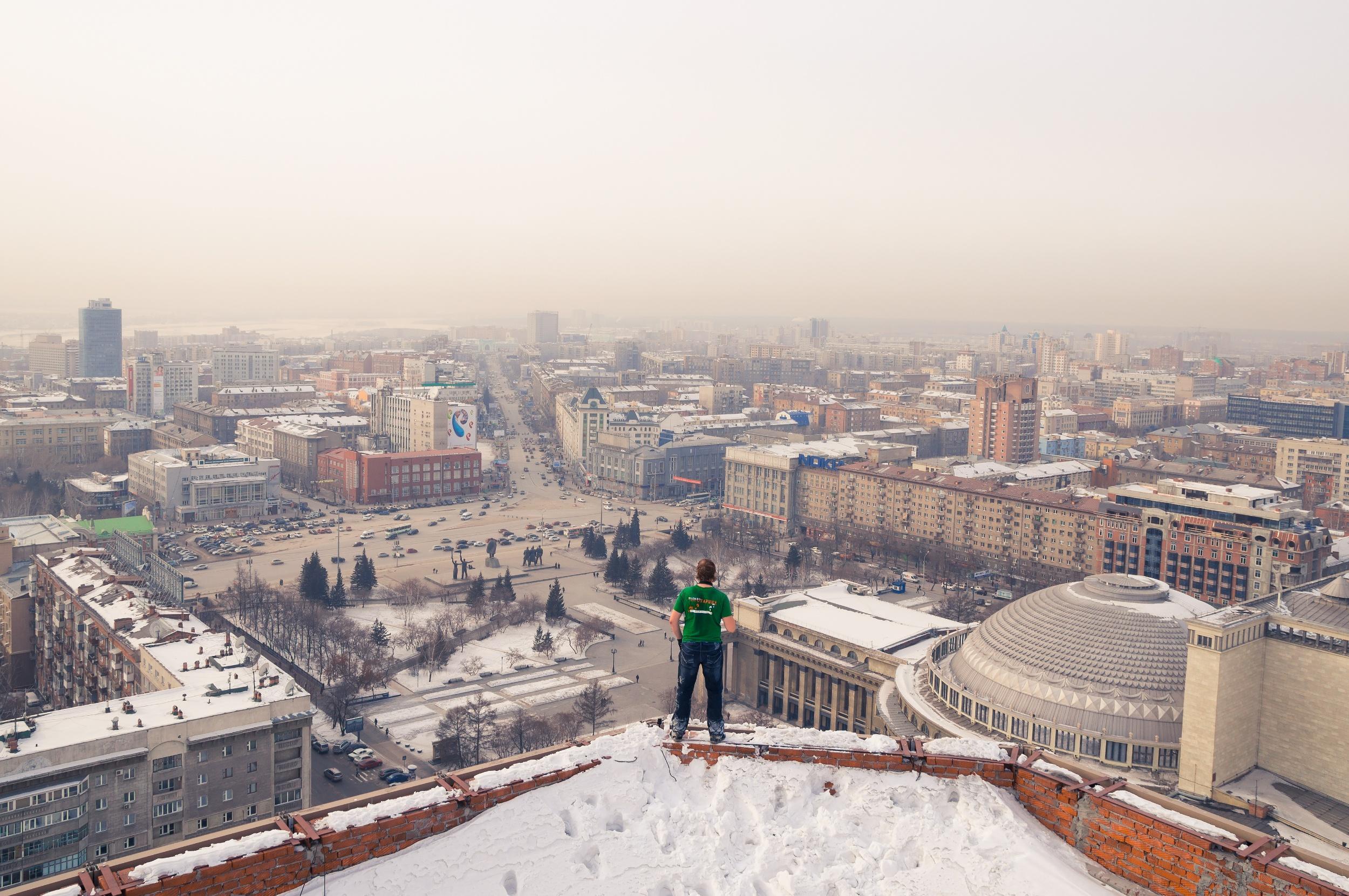 Пока, Новосибирск. И спасибо за рыбу